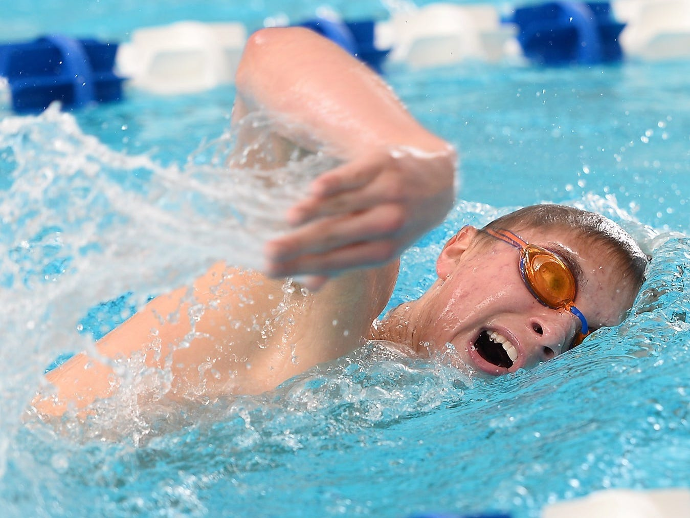 Waverly/Lansing Catholic's Joey Lashbrook broke a school-record, twice, on his way to being named the Lansing State Journal swimmer of the year.