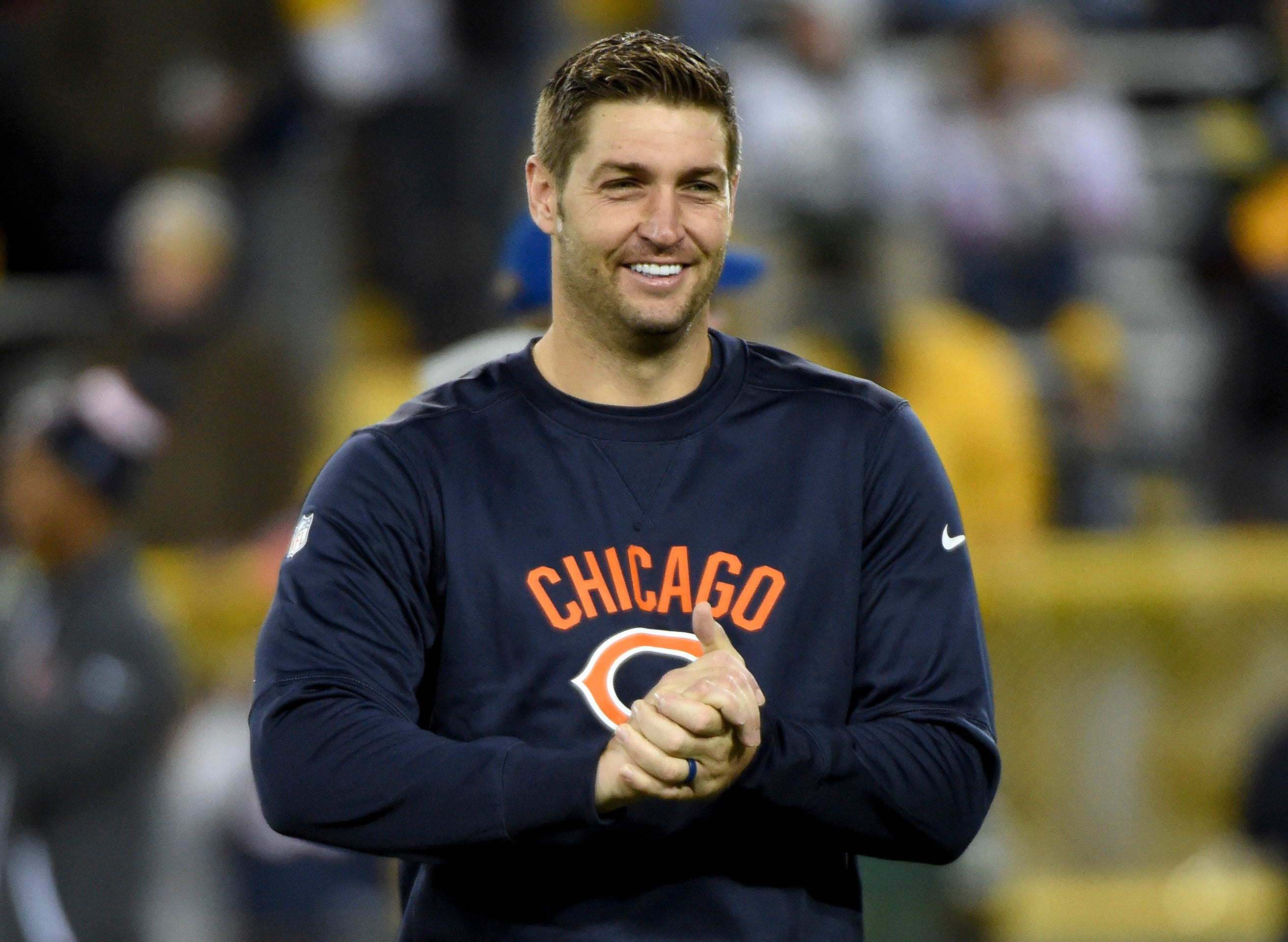 USP NFL: CHICAGO BEARS AT GREEN BAY PACKERS S FBN USA WI Part 80