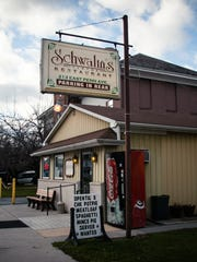 Schwalm's Restaurant, located at 213 E. Penn Ave. (Rt.