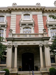 The stately 111-year-old mansion has served as the