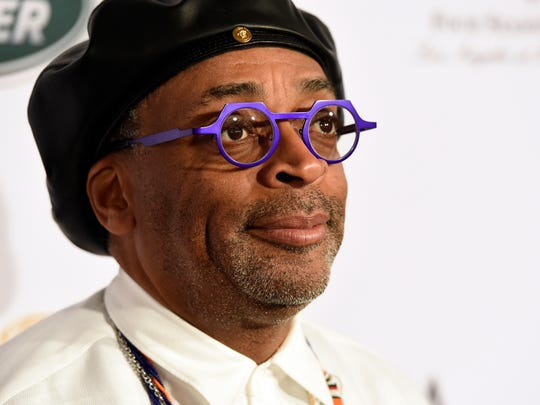 Director Spike Lee poses at the 2019 BAFTA Tea Party