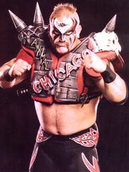 Road Warrior Animal is one of the special guests set
