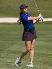 Dixie's Gracie Richens started golfing when she was