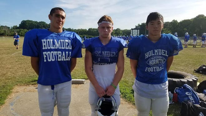 Vincent Vitiello, Johnny O'Beirne and Tristian Wong look to lead the Hornets in 2016.