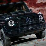 Detroit auto show photos: Mercedes-Benz G-Class