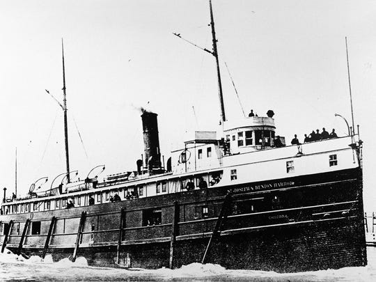The Chicora, a propeller steam ship, was lost in Lake Michigan in 1895