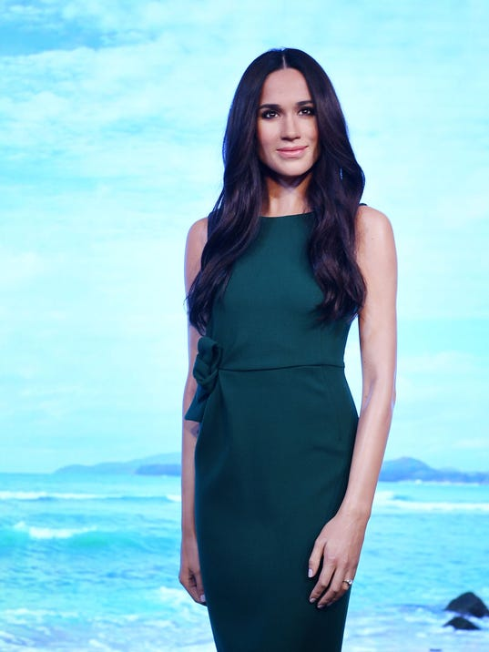 EPA BRITAIN MADAME TUSSAUDS MEGHAN MARKLE ACE PEOPLE SCULPTURE LIBRARIES & MUSEUMS GBR EN