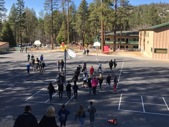 Idyllwild School remained open Friday, Dec. 8, 2017,