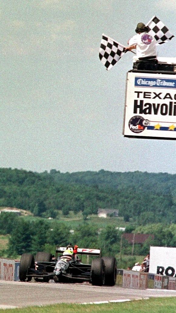 Christian Fittipaldi won Champ Car's 1999 race at Road