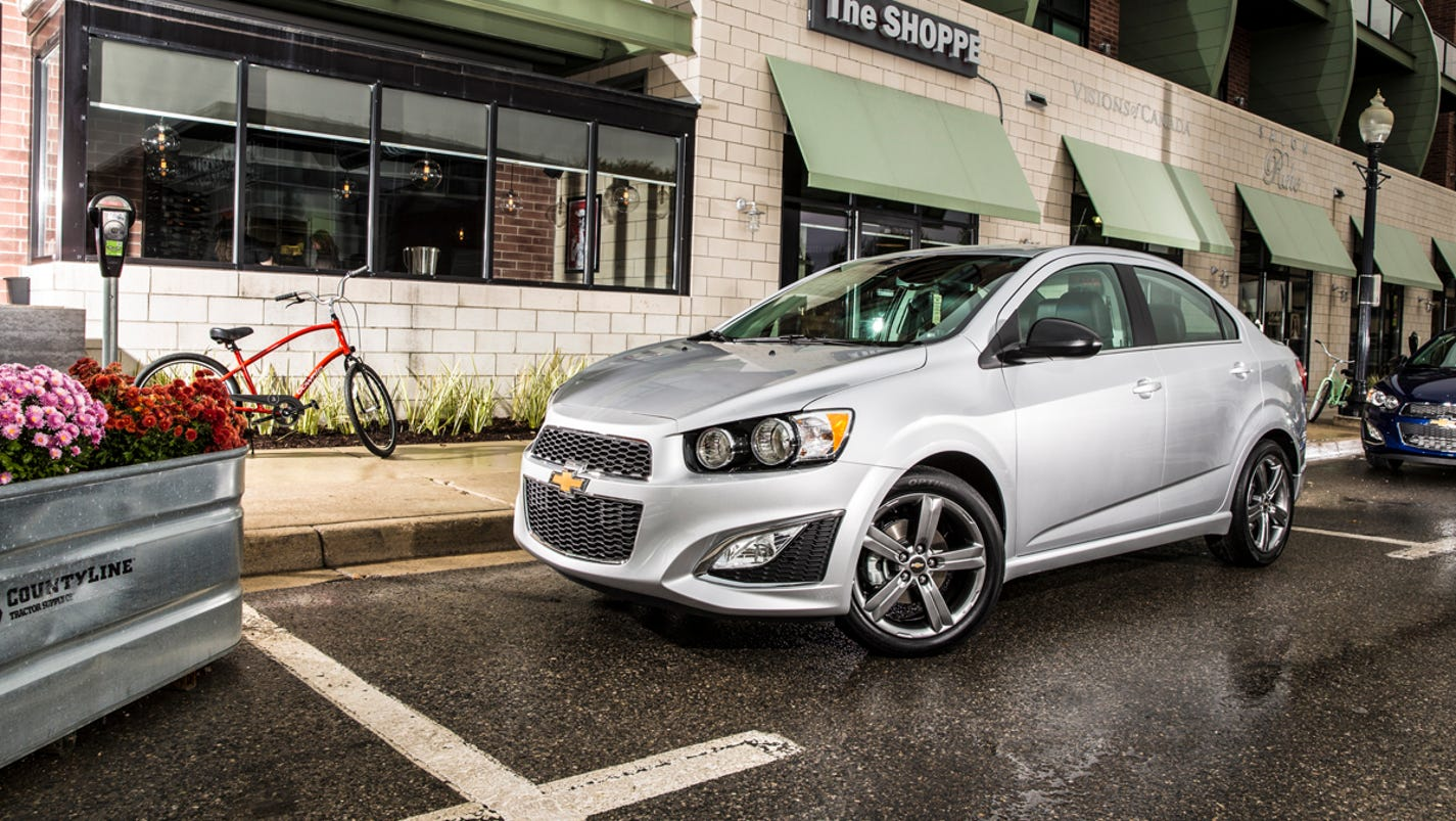 Auto review: Chevy goes banzai with 2014 Sonic