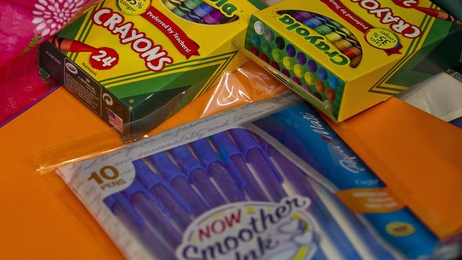 INK! will conduct a drop-off school supply drive at all area VyStar Credit Union locations in St. Johns County.
