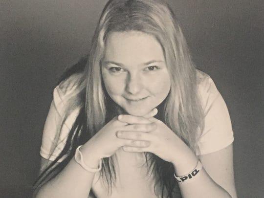 A promotional photo of Olivia Prokopova of the Czech