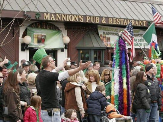 Mannion's Pub.