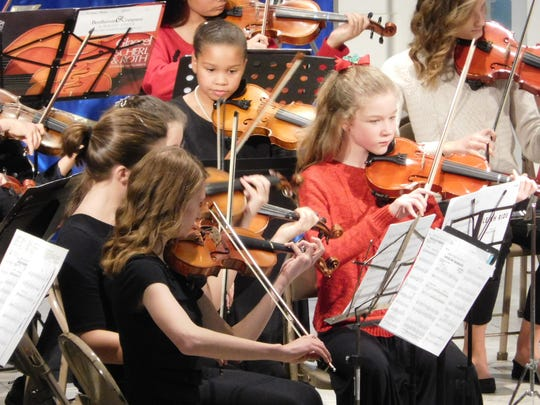 The Sleigh Ride performance was a favorite of both musicians and audience members