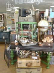 Items from Green Table Gifts, who will be a vendor at Vintage & Vino in Queen Creek.