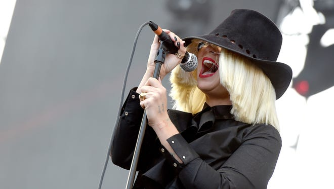 Singer Sia performs during 102.7 KIIS FM's 2015 Wango Tango at StubHub Center on May 9, 2015, in Los Angeles.