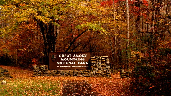 The Cherokee Harvest Half Marathon will take place partly in the Great Smoky Mountains National Park.