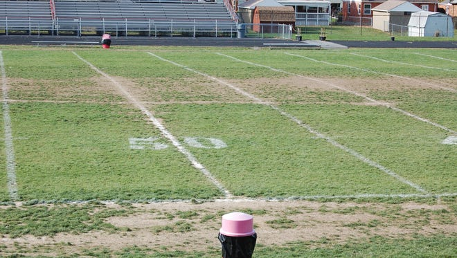 Deer Park High School's football field