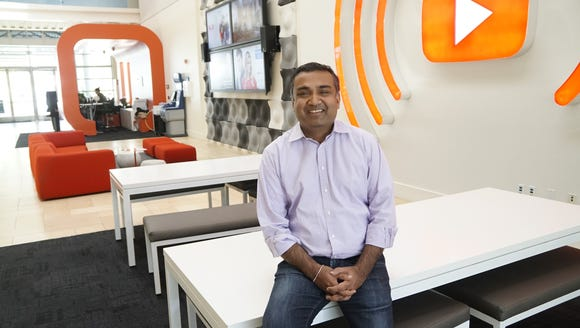YouTube chief product officer Neal Mohan in the bright