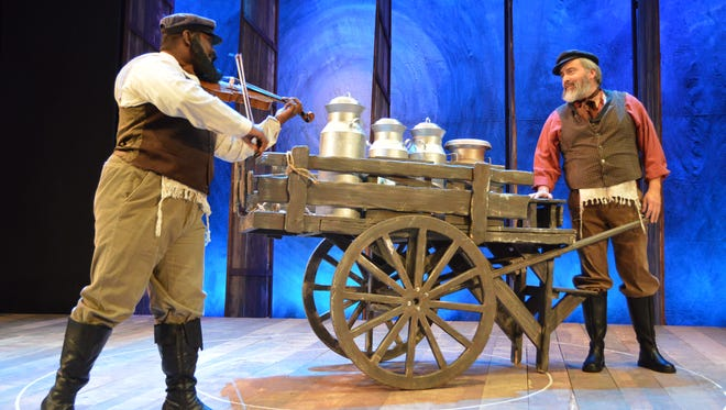 """The UTEP Dinner Theatre continues its run of the musical """"Fiddler On the Roof"""" at 7 p.m. Friday, Saturday, Wednesday and Thursday at the theater on the second floor of the Union West building on the University of Texas at El Paso campus."""