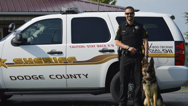 The Dodge County Sheriff's Office welcomes K-9 Kid to its patrol team.
