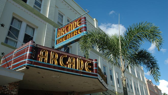 Florida Repertory Theatre performs at the Arcade Theatre in Fort Myers.