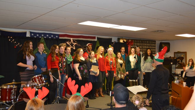 The South Lyon East Music Department hosts its annual Cougar Christmas Cabaret  Dec. 3 from 3-8 p.m.