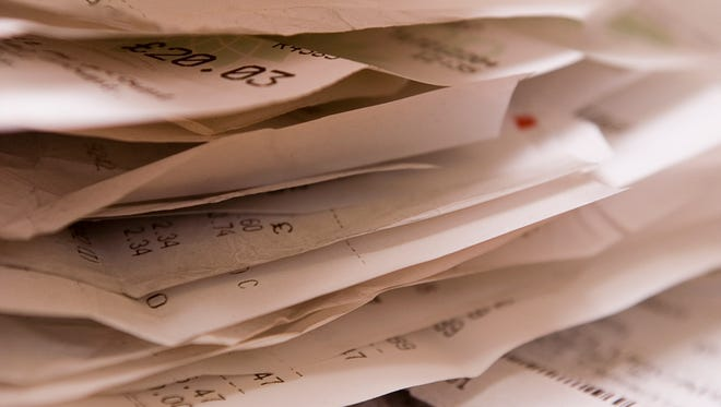 Saving your receipts can lead to big money.