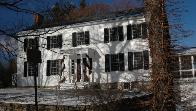 The Huntting residence on Bethel Cross Road was built in 1774 by Quaker Gerardus Winans.