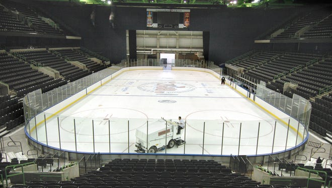 """Let it go at the he American Bank Center's day of movie screenings and ice skating. The venue will offer a screening of """"Frozen"""" while guests take to the rink from 4-6 p.m. and from 7-9 p.m. Saturday, Jan. 21. Entry is free, but it will cost $10 to skate. Skates are available on a first-come, first-serve basis. For more information on the event, visit www.americanbankcenter.com."""