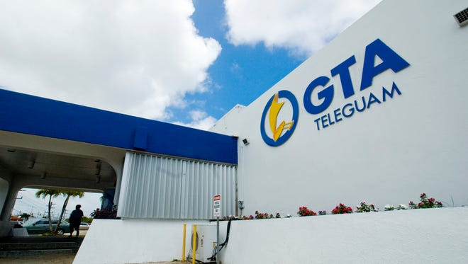 The GTA TeleGuam store in Upper Tumon is shown in this file photo.