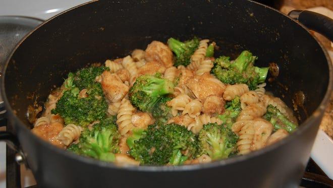 Cajun Chicken and Broccoli Pasta