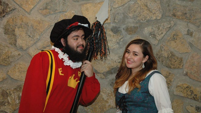 """The Gilbert & Sullivan Company of El Paso will perform """"Yeoman of the Guard, or The Merryman and His Maid"""" at 7 p.m. Friday and Saturday; and 2:30 p.m. Sunday at the Chamizal National Memorial Theatre, 800 S. San Marcial St."""