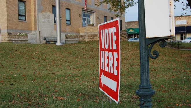 Voters in the Twin Lakes Area decided two issues at the polls Tuesday. Residents in Flippin narrowly rejected a proposed one-percent sales tax increase, and residents of the Cotter School District elected Robert Benedict to the school board.