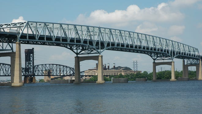 Betsy Ross Bridge  between Pennsauken and Northeast Philadelphia will be repainted. The  Delaware River Port Authority owns and operates the truss bridge, which opened in 1976.