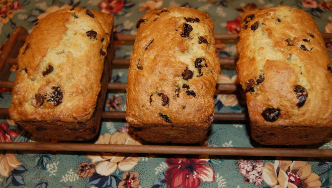 Dried Cherries and Chocolate Quick Bread