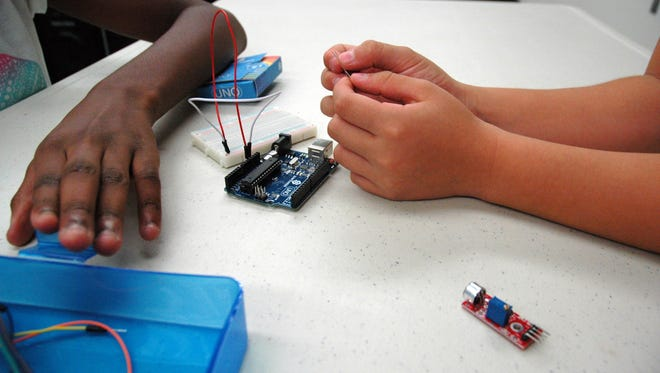 The Morningside Branch Library is getting charged up with the return of two teen tech programs.