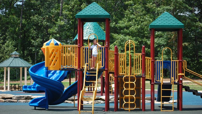 Germantown is planning to have new playground equipment installed at Spassland Park by the end of summer.