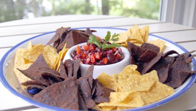 Hot cherry salsa