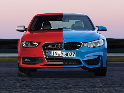 Payne Teutonic Sedan Showdown BMW M Vs Audi S - Bmw vs audi