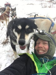 Matt Scott takes a selfie with Nash.