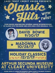 On Sept. 30 the songs of David Bowie will be interpreted