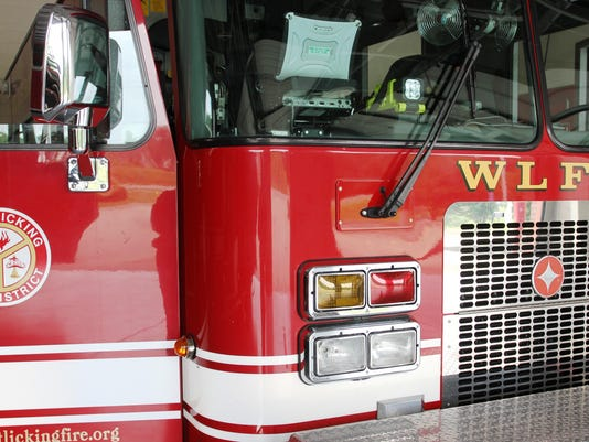 West Licking Joint Fire District truck