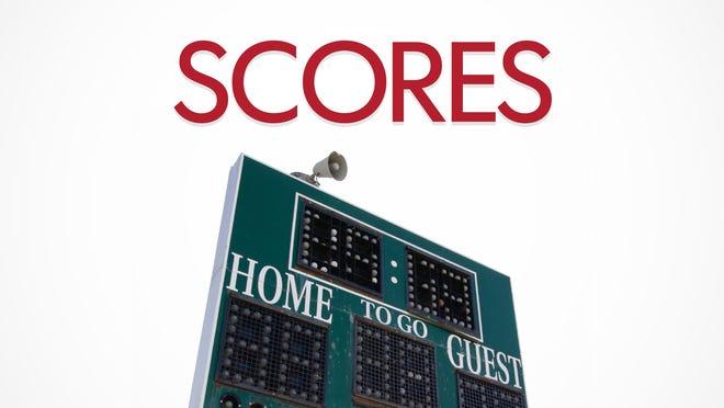 Saturday's high school scoreboard