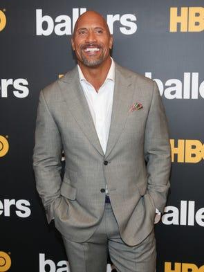 Dwayne 'The Rock' Johnson, 44, broke Robert Downey