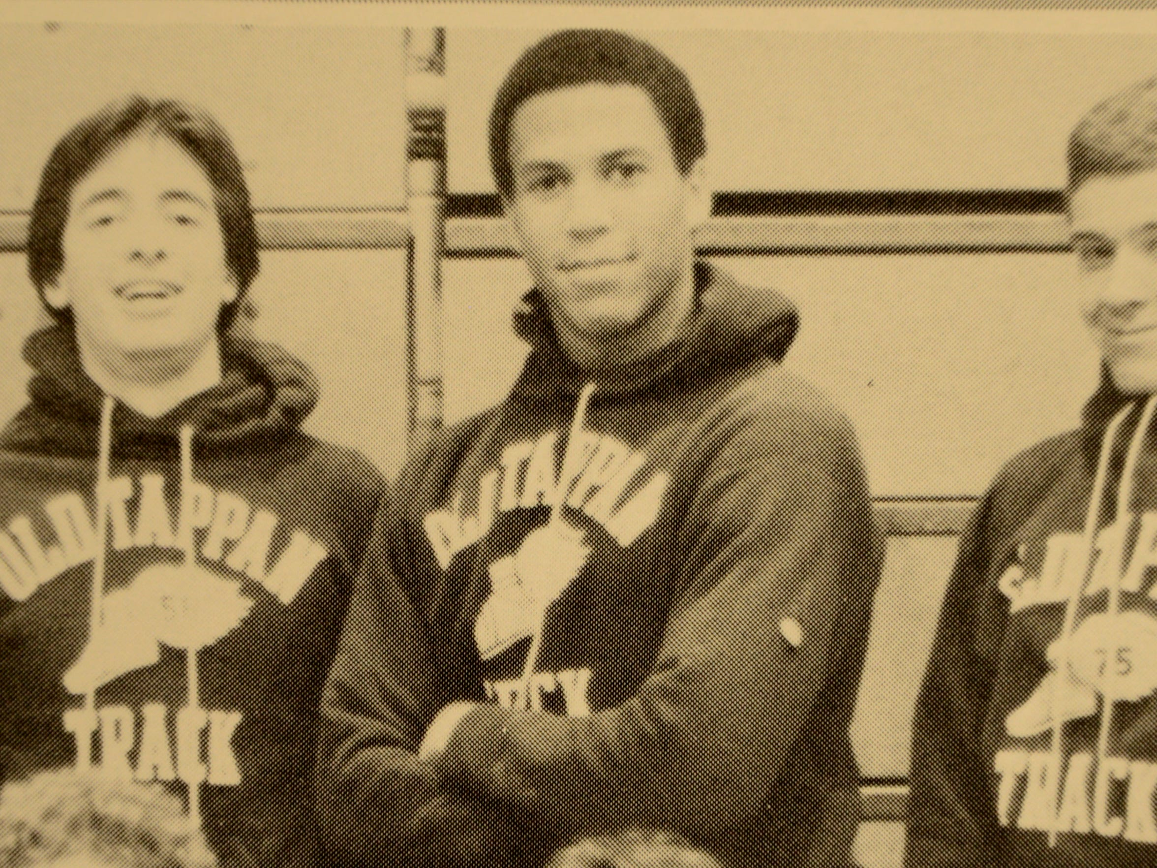 A photo from Cory Booker's 1987 yearbook.