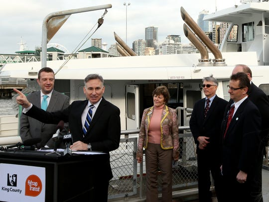 King County Executive Dow Constantine addresses those