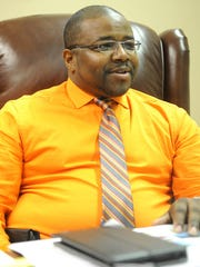 Rev. Dr. Derek J. Williams, the newest pastor at Mount Calvary Baptist Church, talks about his excitement for the opportunity at Mount Calvary Wednesday evening.