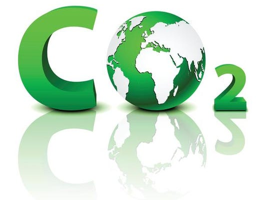 CO2 pollution in 3D
