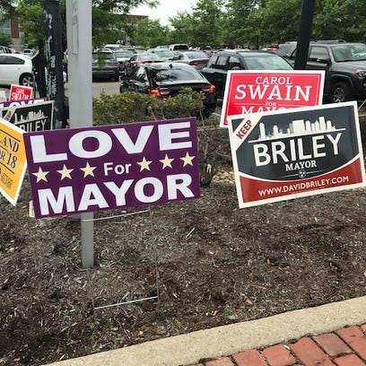 Early voting has been low in the special mayoral election,